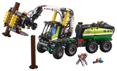 42080 LEGO Technic Bosbouwmachine