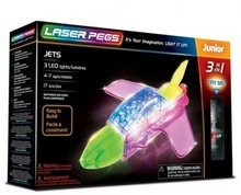 Laser Pegs Junior 3-in-1 Jet