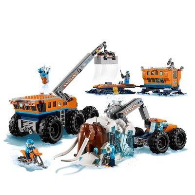 60195 LEGO City Arctic Mobiele Onderzoeksbasis op de Noordpool