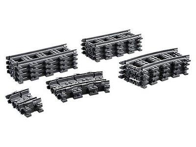 60205 LEGO® City Rechte en Gebogen Rails