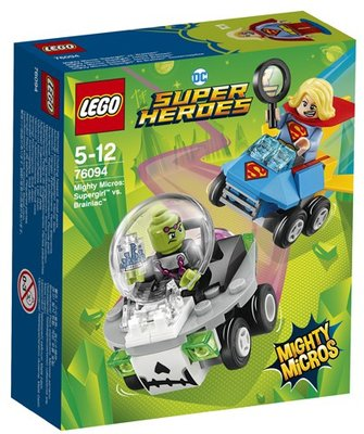 76094 LEGO Super Heroes Mighty Micros: Supergirl vs. Brainiac