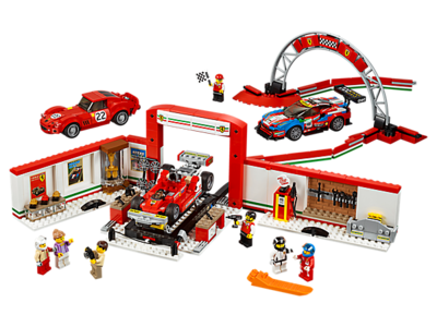 75889 LEGO Speed Champions Ultieme Ferrari Garage