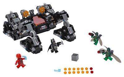 76086 LEGO Super Heroes Justice League Knightcrawler Tunnelaanval