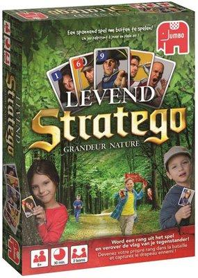 18183 Jumbo Spel Levend Stratego