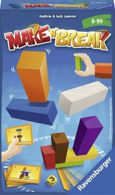 234448 Ravensburger Make 'n Break Pocketspel