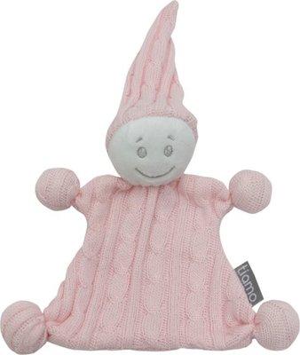 4061 Knuffelpopje gebreid roze
