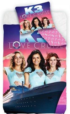 100741 Studio 100 K3 Love Cruise  Kinderdekbedovertrek - Eenpersoons - 140x200 cm