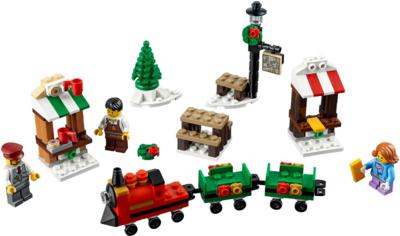 40262 LEGO® Kerstmarkt met Trein