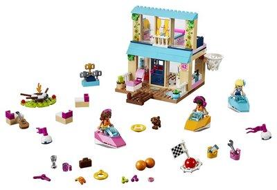 10763 LEGO Juniors Friends Stephanie's Huisje aan het Meer
