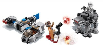 75195 LEGO Star Wars Ski Speeder vs. First Order Walker Microfighters