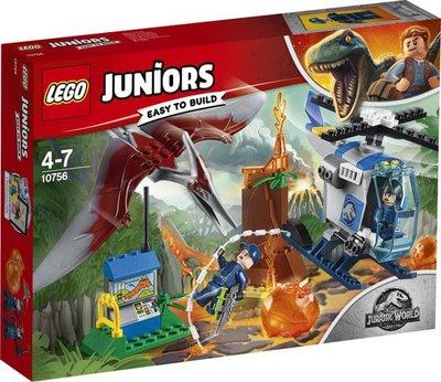 10756 LEGO Juniors Jurassic World Ontsnappen aan de Pteranodon