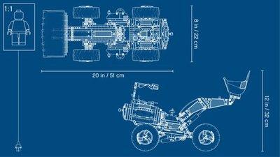 42081 LEGO Technic Volvo Concept Wiellader ZEUX