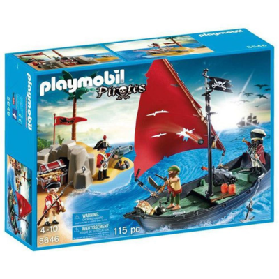 5646 Playmobil Piraten club set