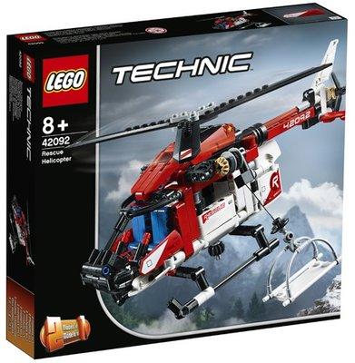 42092 LEGO Technic Reddingshelikopter