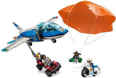 60208 LEGO City Luchtpolitie Parachute-arrestatie