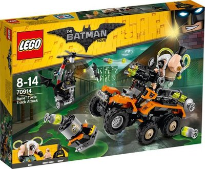 70914 LEGO Batman Movie Bane Giftruck-aanval