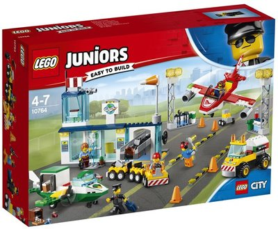 10764 LEGO Juniors City Central Luchthaven