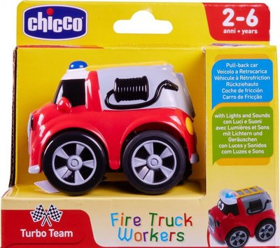 Chicco Fire Truck Workers brandweerauto