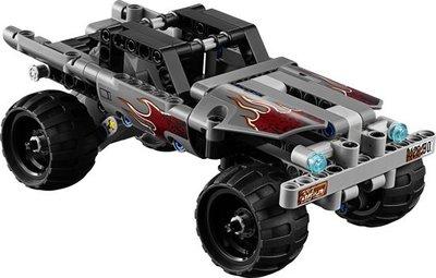 42090 LEGO Technic Vluchtwagen