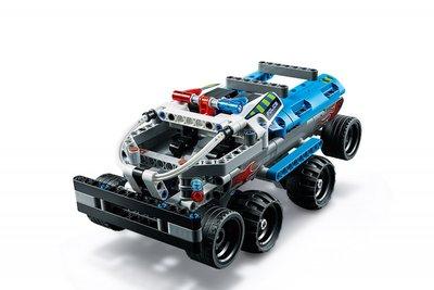 42091 LEGO Technic Politie Achtervolging