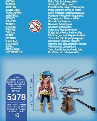 5378 PLAYMOBIL Special Plus Piraat met bronzen scheepskanon