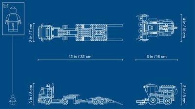60223 LEGO City Maaidorser Transport