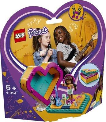 41354 LEGO Friends Andrea's Hartvormige Doos