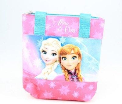 Disney Frozen schoudertas roze/blauw 20x19x4 cm