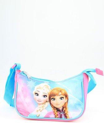 540618 Disney Frozen Schoudertas roze - blauw 19x10x6.5 cm