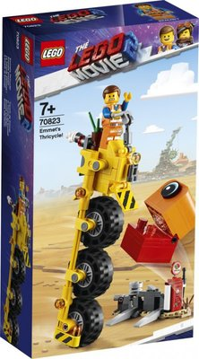 70823 LEGO The Movie 2 Emmets Driewieler!