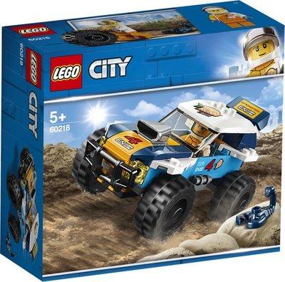 60218 LEGO City Woestijn Rallywagen