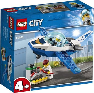 60206 LEGO 4+ City Luchtpolitie Vliegtuigpatrouille
