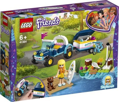 41364 LEGO Friends Stephanie's Buggy en Aanhanger