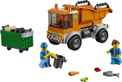 60220 LEGO 4+ City Vuilniswagen