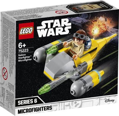 75223 LEGO Star Wars Naboo Starfighter Microfighter