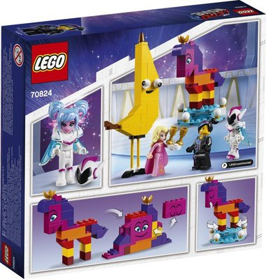 70824 LEGO The Movie 2 Maak Kennis met Koningin Watevra Wa'Nabi