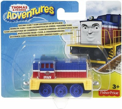 36 Thomas de Trein Adventures trein - Racing Ivan