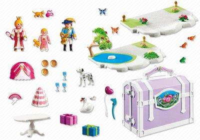 5359 Playmobil Meeneemkoffer Prinsessenverjaardag