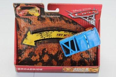 Mattel Cars 3 Crazy Crasher Broadside