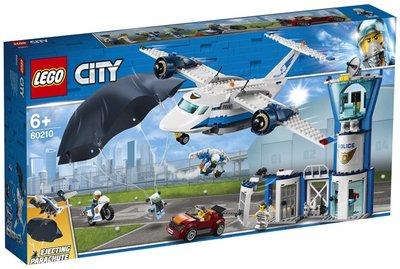 60210 LEGO City Luchtpolitie Luchtmachtbasis