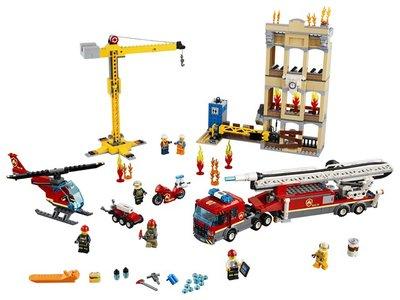 60216 LEGO City Brandweerkazerne in de Stad