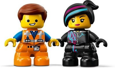 10895 LEGO DUPLO The Movie 2 Visite voor Emmet en Lucy van de DUPLO Planeet