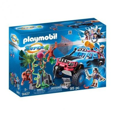9407 Playmobil Monstertruck met Alex en Brute Brock