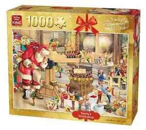05350 King Puzzel  Santa's Toys 1000 Stukjes