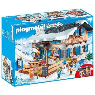 9280 PLAYMOBIL Skihut