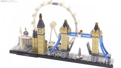 21034 LEGO Architecture Londen