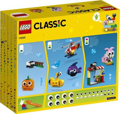 11003 LEGO Classic Stenen en Ogen