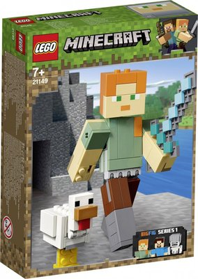 21149 LEGO Minecraft BigFig Alex met Kip