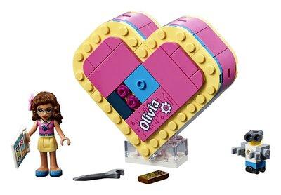 41357 LEGO Friends Olivia's Hartvormige Doos