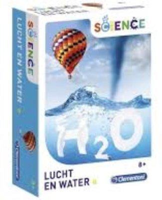 66856 Clementoni wetenschapsspel Lucht en Water